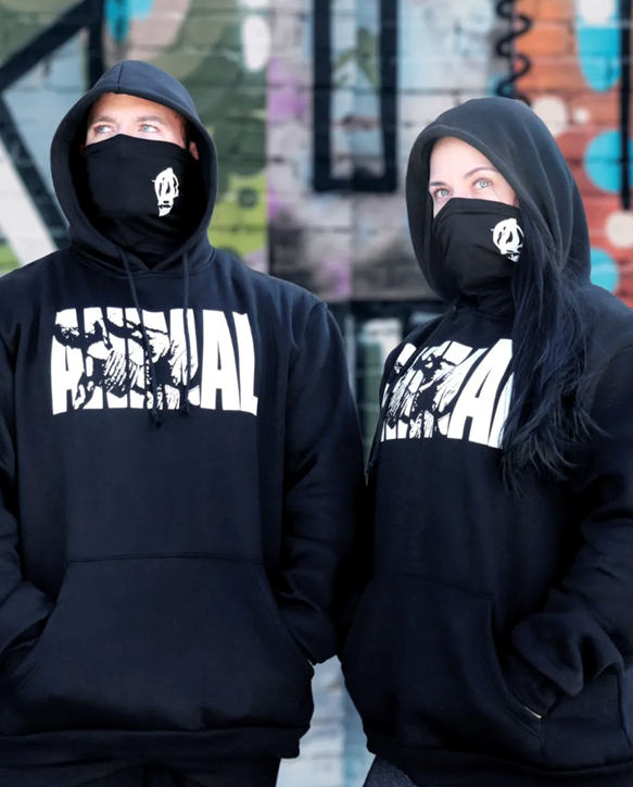 Animal Fury Iconic Hoodie - Black