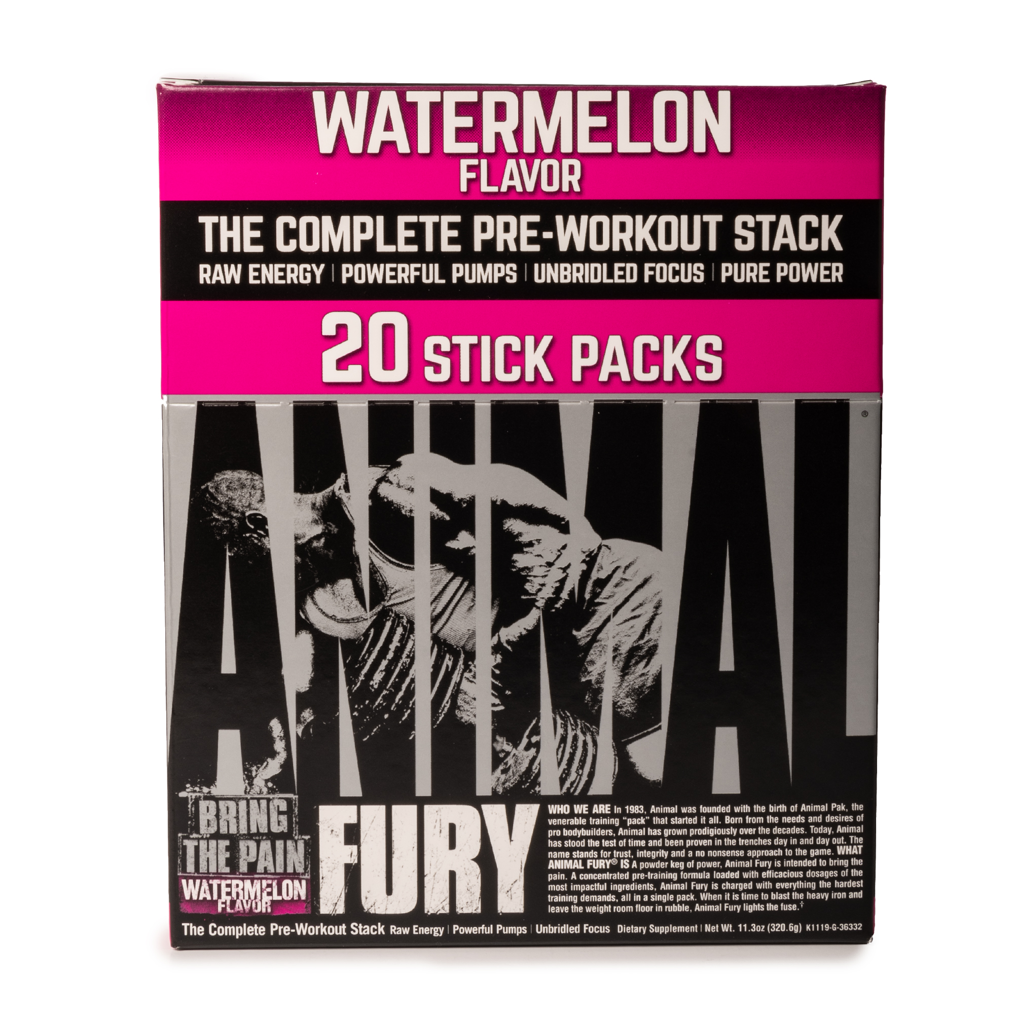 ANIMAL FURY - 20 STICKS PACKS