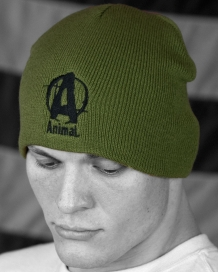 Animal Military Green Skullie