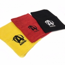Animal Workout Towel Black