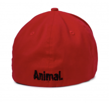 Animal Big A logo - red cap